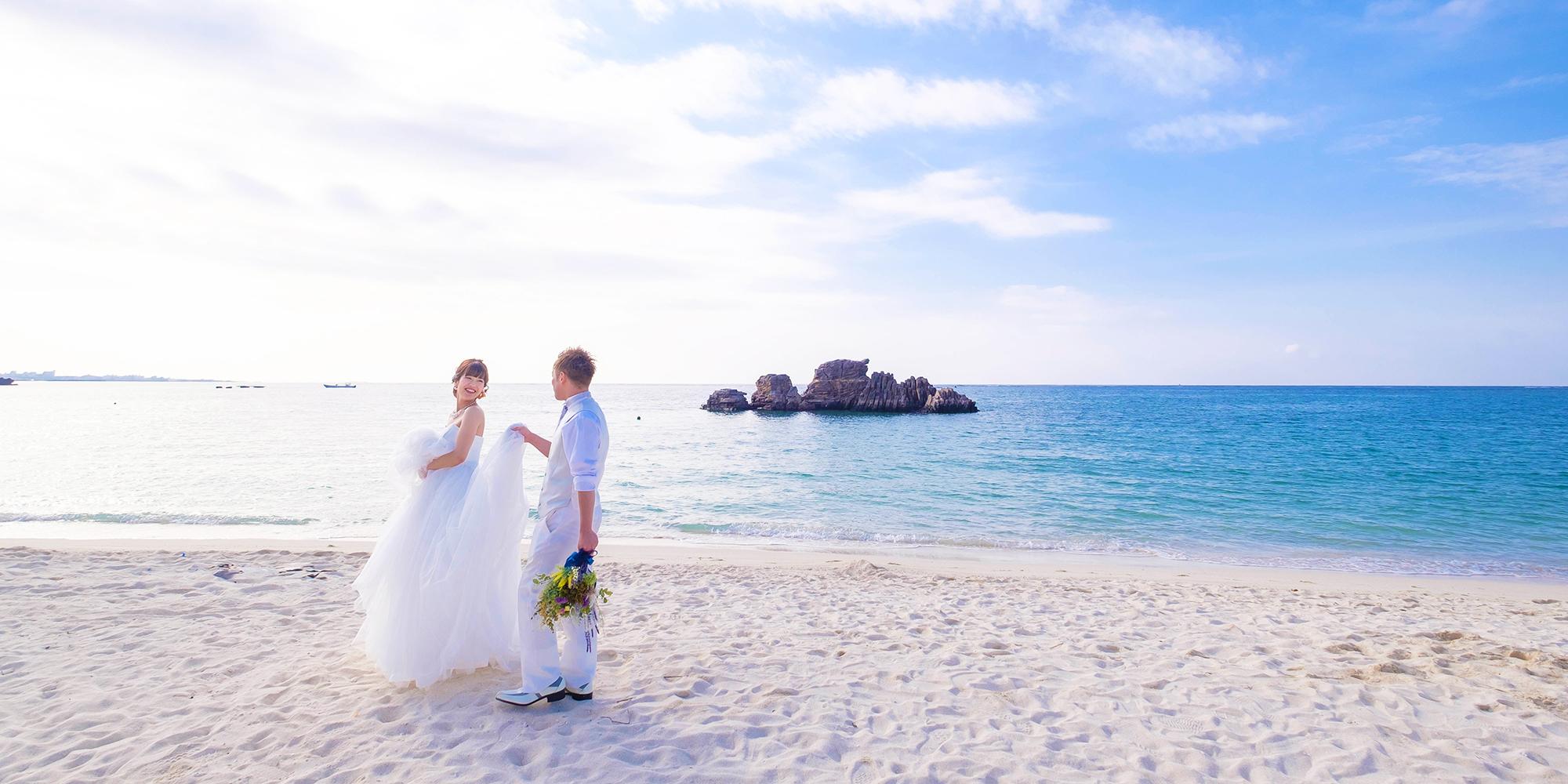 沖縄フォトウェディングイメージ
